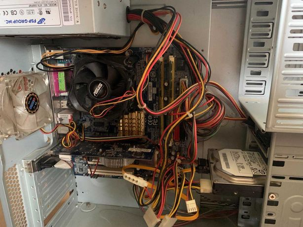 Знижка! Компьютер Оперативка 3 гб Видеокарта ASUS GeForce® 8400 512 Мб