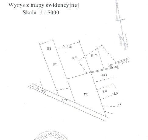 Rościsławice - działka z lasem i siedliskiem