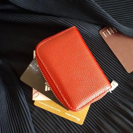 Кошелек портмоне кожаный держатель для карт