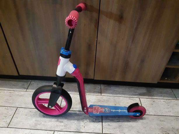 Rower biegowy i hulajnoga w jednym scoot and ride