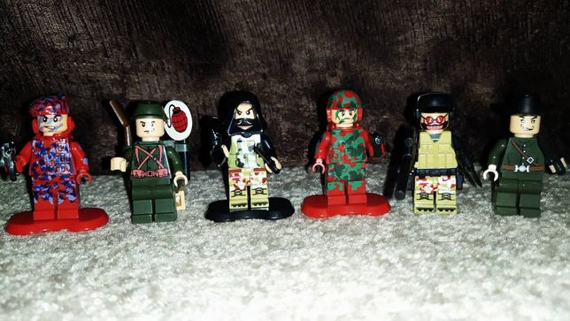 Лего фигурки военных