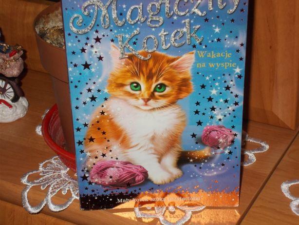 Magiczny kotek-wakacje na wyspie Sue Bentley
