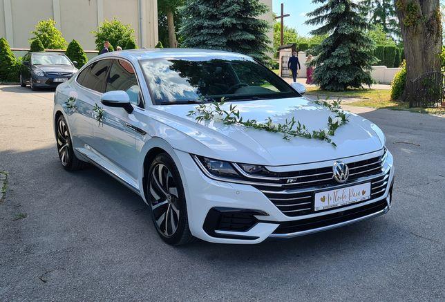 Auto/Samochód do ślubu Biały Arteon R-line Opatów/Kielce