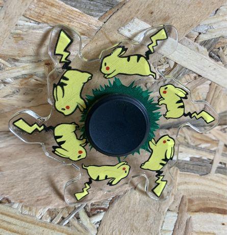 Спінер Іграшка Пікачу Спиннер с эффектом бега Бегущий спинер Пикачу