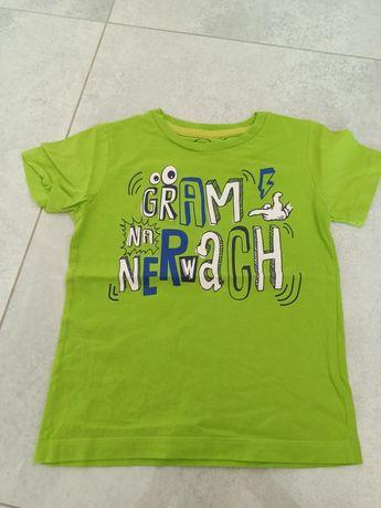 Koszulka neonowa Cool Club rozmiar 104 stan idealny
