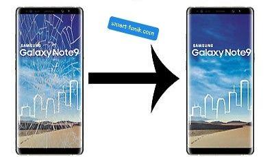 Samsung Note 8 9 szybka wyświetlacz + wymiana szybki