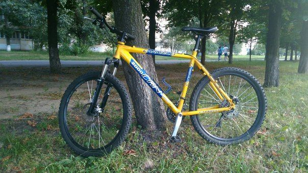 "Украден Велосипед 21"" рама Carnielli CRN 2000 Disk Deore алюмин"