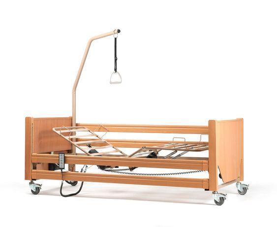 łóżko rehabilitacyjne - na gwarancji, sterowane pilotem z materacem