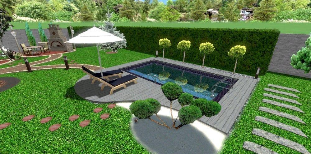 Ландшафтное проектирование , дизайн , озеленение. Реконструкция. Одесса - изображение 1