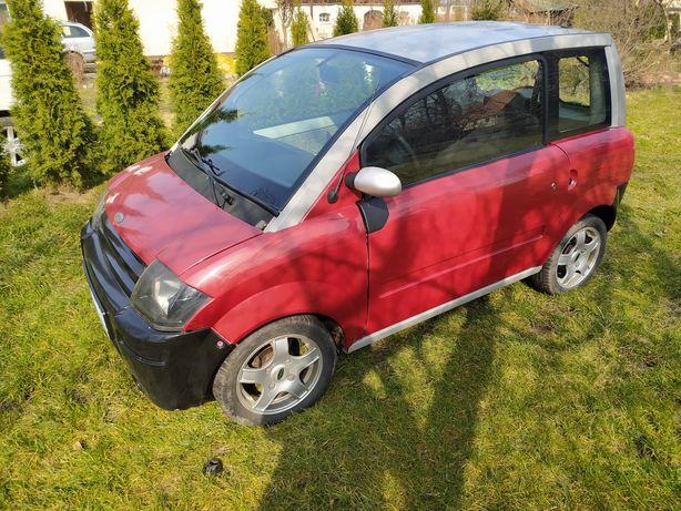 Microcar MC1, bez prawa jazdy