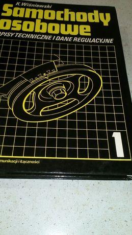Książka Samochody osobowe opisy techniczne