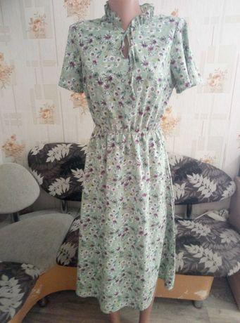 Крутое летние шифоновое платье