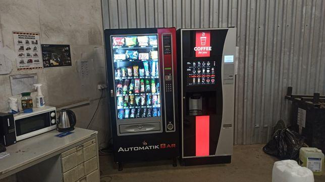 Automaty vendingowe wynajem powierzchni/współpraca