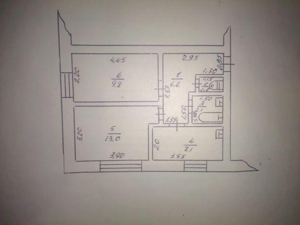 Продам двух комнатную квартиру в Новотроицке