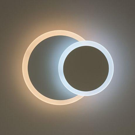 Настенный светильник бра ГЕОМЕТРИЯ Круг 12W светодиодные LED на стену