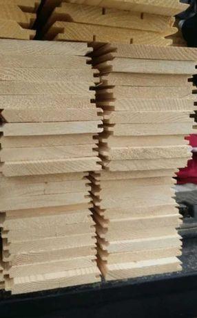 Podbitka boazeria deski elewacyjne tarasowe listewki półbal