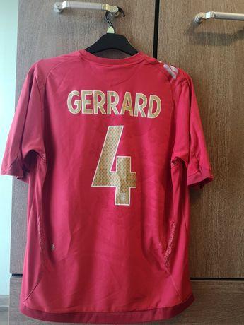 Steven Gerrard numer 4 reprezentacja Anglia 2006/2008 retro