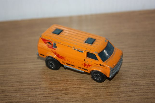 Resorak matchbox Chevy Van 1979