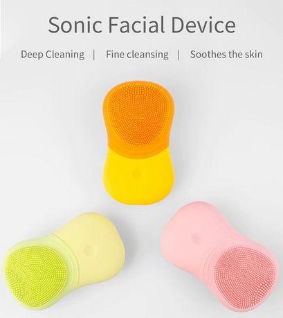 Soniczna szczoteczka do twarzy, masaż DARMOWA WYSYŁKA DHL--NOWE--