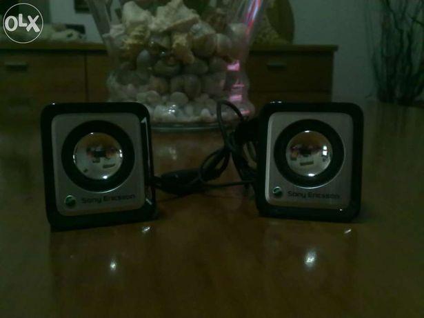 Mini Colunas Sony Ericsson