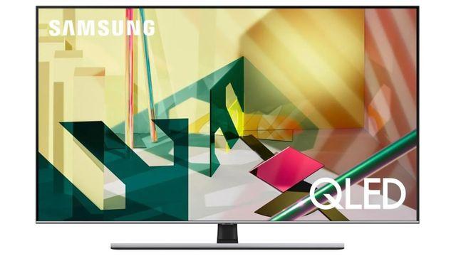 "Nowy 75"" Telewizor QLED SAMSUNG QE75Q74TAT 100Hz PQi 3400 4K"