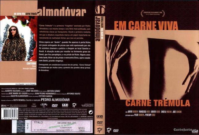 DVD Carne Viva, Carne Tremula Javier Bardem