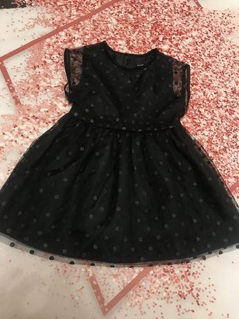 Шикарное платье на девочку kiabi 2 года 83-89 см zara h&m