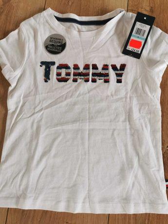 T-shirt dla dziewczynki Tommy Hilfiger