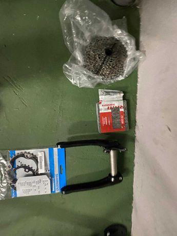 Gravel Bike - Quadro BTT - Componentes
