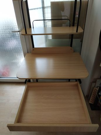 Стол письменный, школьника, парта, лофт, маленький