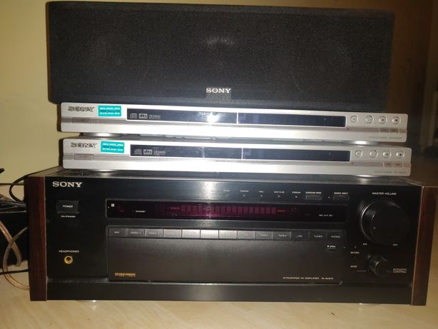 Amplificador Sony TA-AV670 + colunas Sony