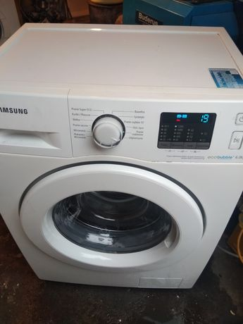 Pralka Samsung Ecobubble 6kg 1200obr slim
