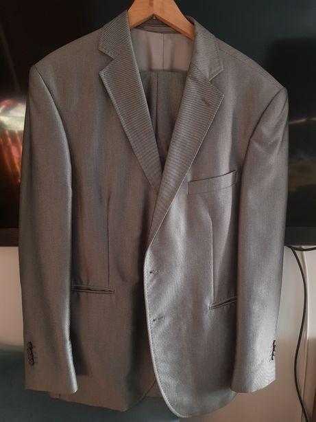 Garnitur męski stalowy szary 54 Sunset Suits
