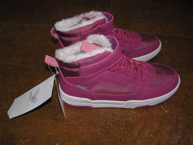 Хайтопы демисезонные кроссовки с утеплением H&M для девочки