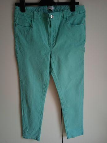 Miętowe spodnie F&F