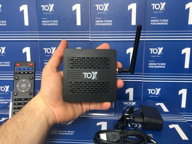 ⫸SmartTV Ugoos TOX1 4/32ГБ S905X3 АндроидПриставка X96MaxPlus+H96Cube