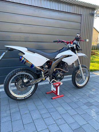 Derbi Senda 125/250 (Yamaha WR,Aprilia,) 2014r na B/A1