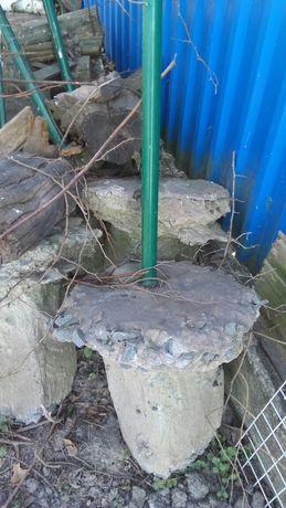 Столбы пвх с бетонной основой для ограждения любой территории