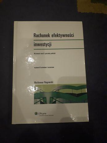 Rachunek efektywności inwestycji W. Rogowski