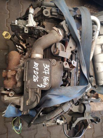 Silnik Peugeot 307 1.6 hdi 10fd26