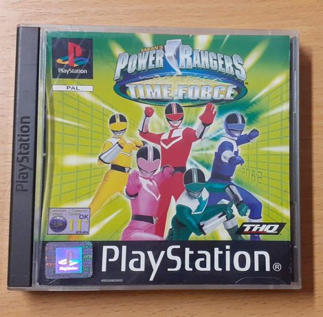 Power Rangers Play Station 1