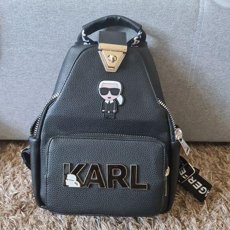 Plecak Karl czarny