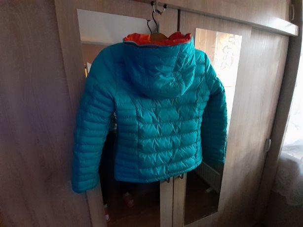 kurtka dziewczęca jak nowa rozmiar 152 zimowa .