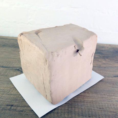Глина гончарна МКФ-2 вага5кг, глина для художньої ліпки, творчості