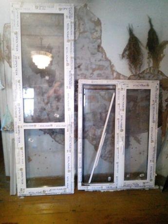балконный блок метало пластиковое окно