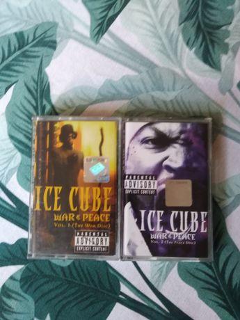 Kasety hip hop Ice cube War and peace Vol 1 i 2