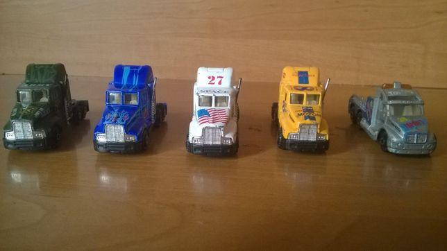 diorama makieta siężarówki 5 szt