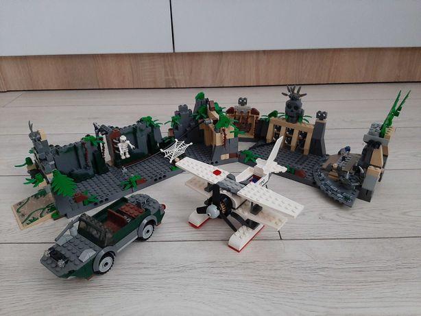 LEGO Indiana Jones 7623 Temple Escape + 7682 Shanghai Chase + 7625