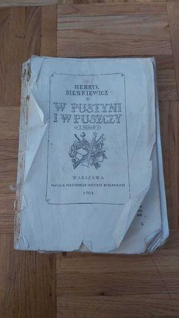 ,,W Pustyni i w Puszczy,,Henryk Sienkiewicz
