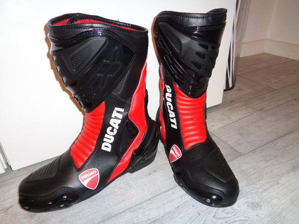 Buty motocyklowe DUCATI TCX Sport, wysokie, rozm. 42, 27,5cm, wysyłka